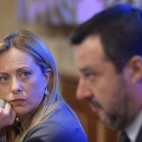 """Andrea Scanzi: """"La Meloni ricalca in tutto Salvini. Meglio se si smarca"""""""