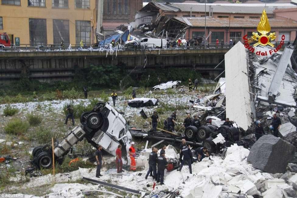 Strappo parenti vittime Morandi sull'inaugurazione