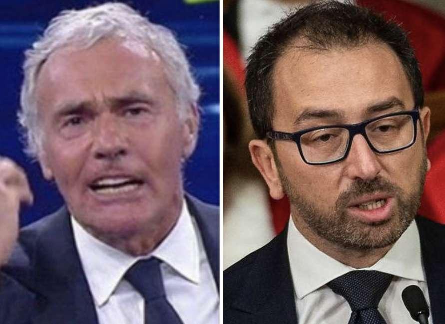 """Massimo Giletti: """"Aspetto una presa di distanza del Ministro Bonafede dalle parole del boss…"""""""