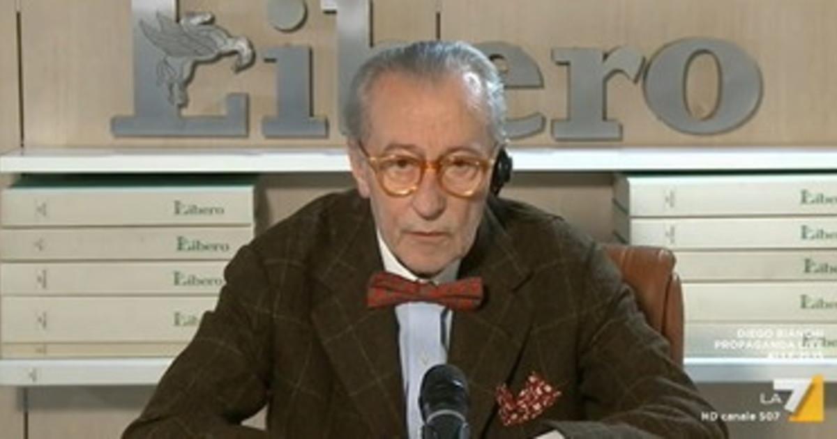 """Vittorio Feltri: """"Se Grillo difende suo figlio va rispettato"""""""