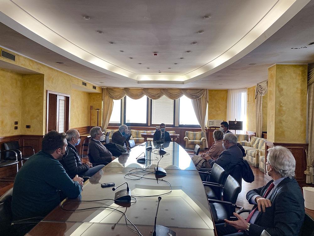 """Mortaruolo: incontro con i sindaci dei Comuni di """"Sannio Falanghina. Città Europea del Vino"""""""