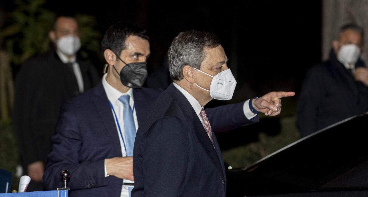 Il bidone Draghi, il Movimento e la moderazione