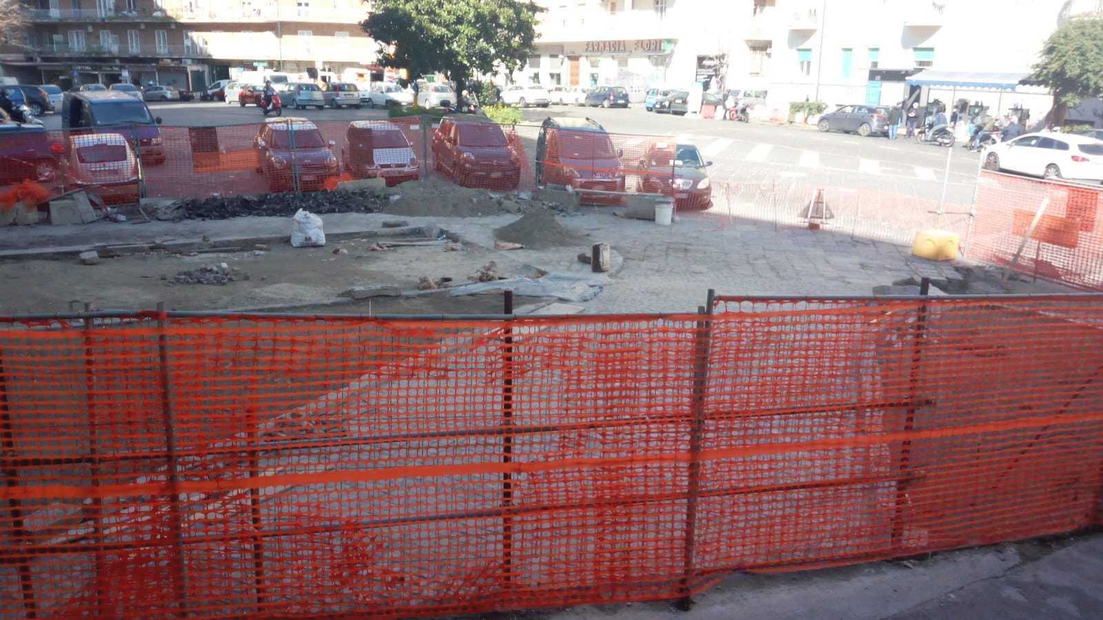 Napoli, cantiere di piazza Leonardo: lavori a passo di lumaca