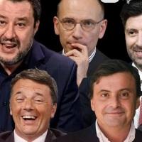 """La pace terrificante dei partiti, da Salvini al """"poro"""" Calenda"""