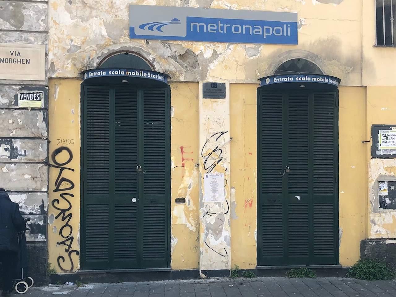 Napoli,scala mobile Scarlatti al Vomero: oggi di nuovo chiusa