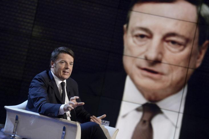 Quell'asse Draghi-Renzi sui Servizi