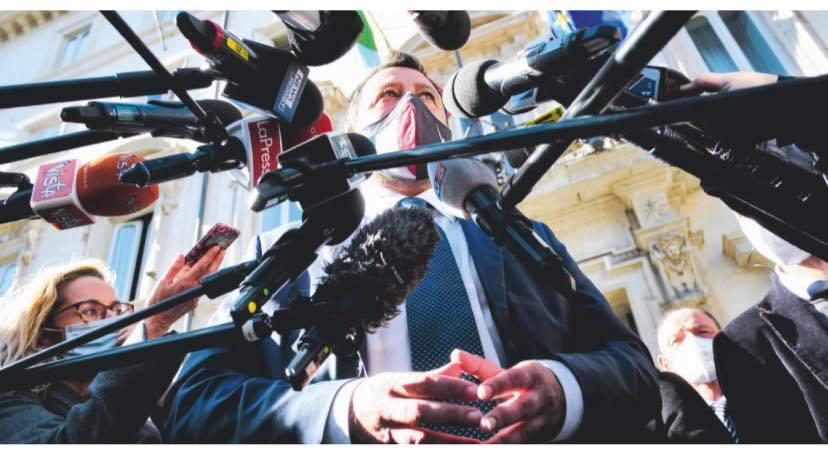 Salvini come Silvio: ha paura dei processi e aggredisce i giudici