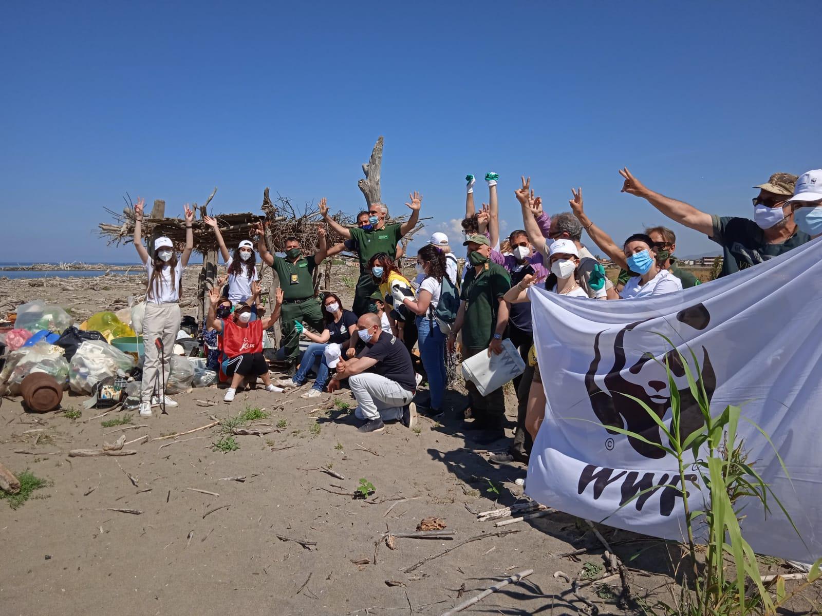 Il WWF Campania fa tappa a Castel Volturno