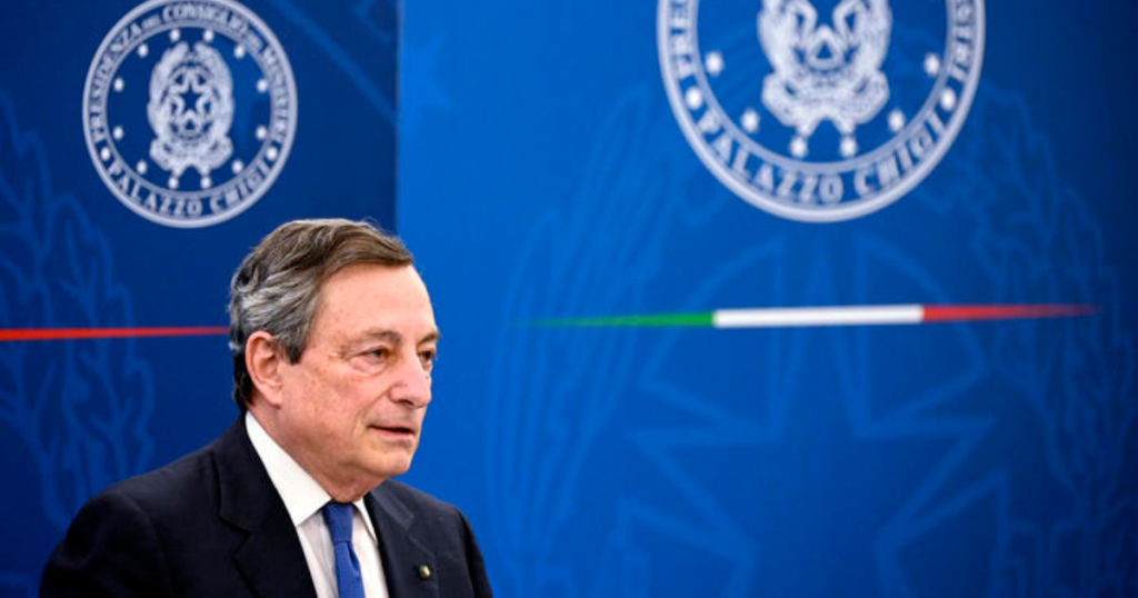 Il Financial Times lo critica e Draghi corre ai ripari: la figuraccia italiana sul mix di vaccini