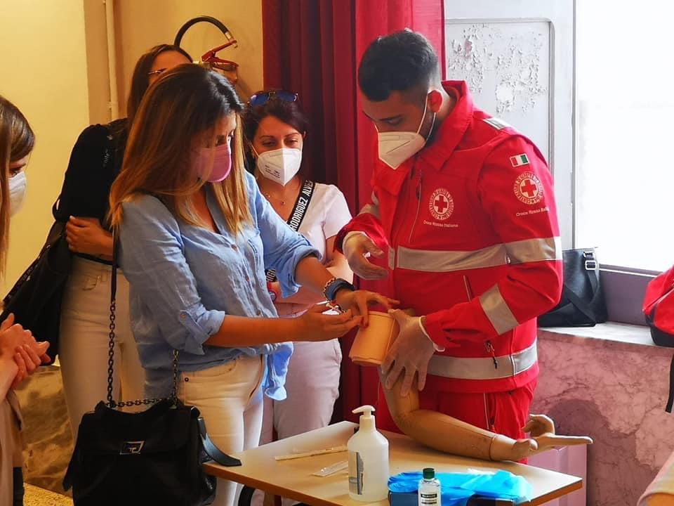 Maddaloni (CE), Villaggio dei Ragazzi: Croce Rossa e Federfarma insieme nella lotta al COVID 19
