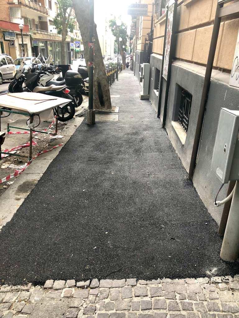Napoli: al Vomero nasce la strada double-face