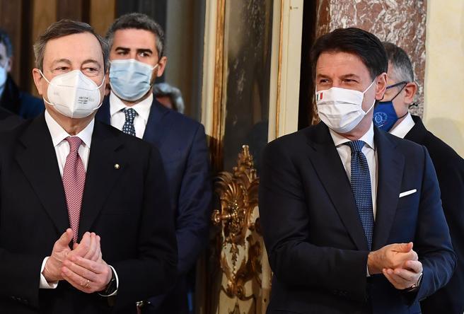 Conte non può rompere con Draghi