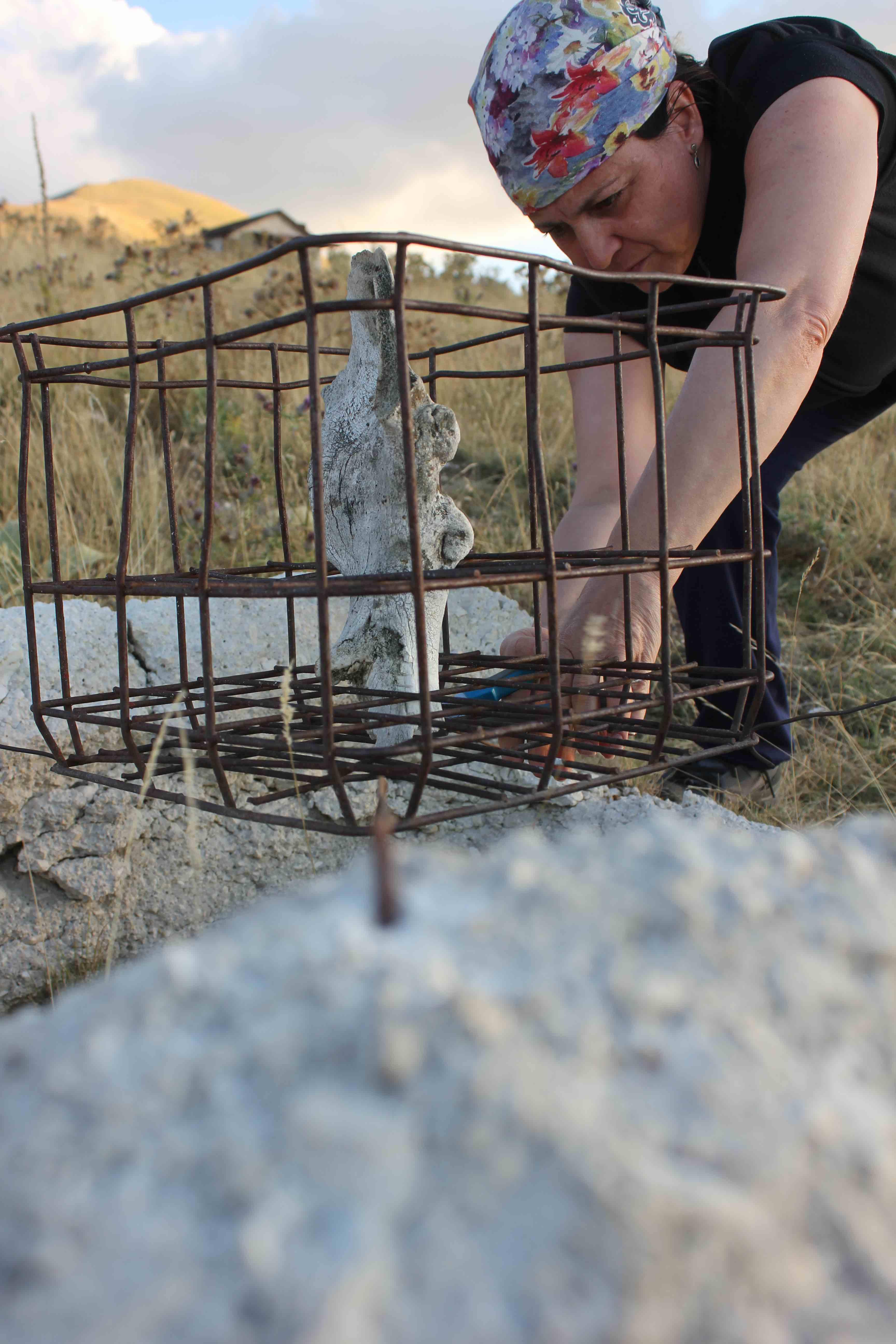 L'artista di Sant'Arpino Rosanna Pezzella partecipa alla terza edizione di Artist in Residency Mountain