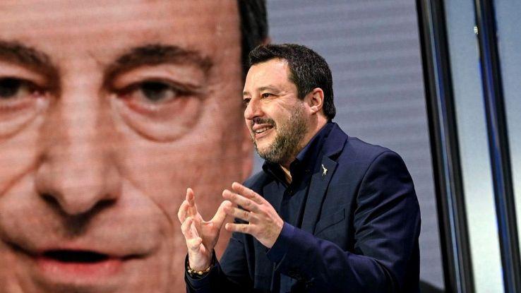 Che Salvini papeeti Draghi
