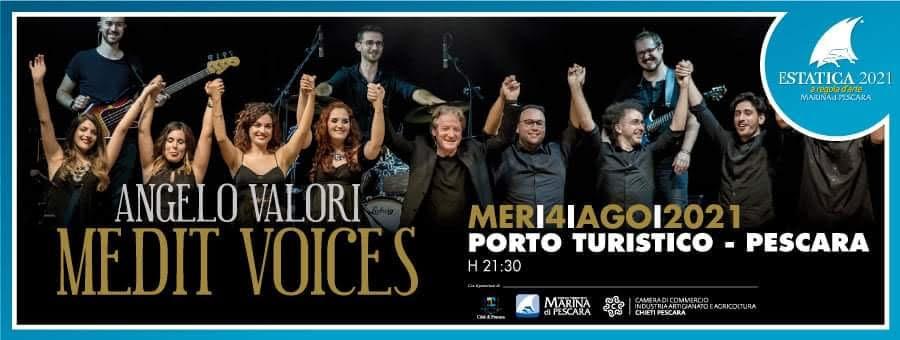 Pescara, Estatica: domani Medit Voices e programma del fine settimana