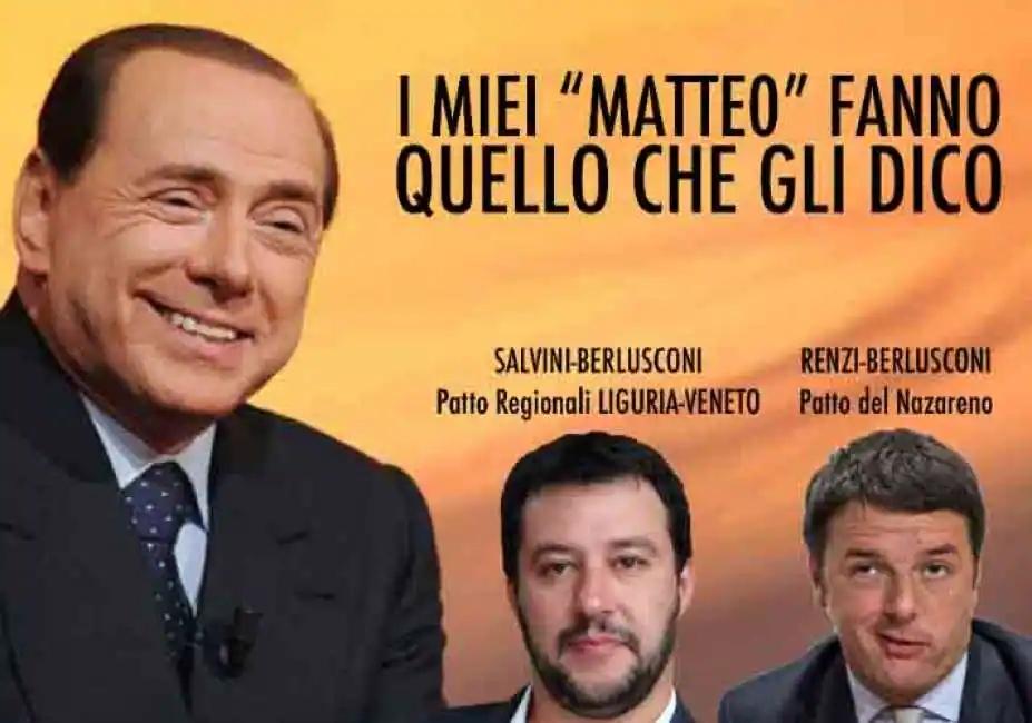 La politica del doppio forno di Berlusconi