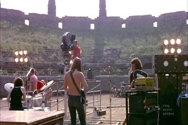 Pink Floyd a Pompei, il mito rivive 50 anni dopo