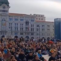 """Trieste, Partito democratico: """"Liberare Piazza Unità dai manifestanti No Green Pass"""""""